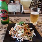 奉天飯店 - 干豆腐の千切り和え