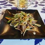 奉天飯店 - 砂肝ネギ塩