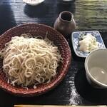 天祥庵 - せいろ(大盛り)