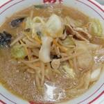 蒙古タンメン中本 - 味噌タンメン(辛さ度3)800円
