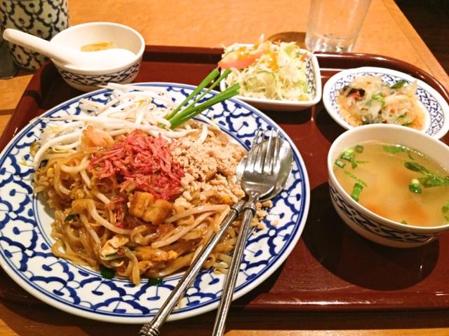 チャオタイ 渋谷東口店 - ランチ パッタイ ¥780