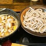 武蔵野うどん 一彩 - 肉汁うどん・肉2倍