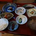 134591131 - 乳頭温泉郷@鶴の湯の朝食/ズームアップ