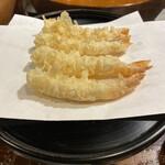 天源・天ぷら専門店 - 料理写真:車海老