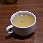 ハンバーグ・ステーキ グリル大宮 - スープ