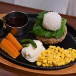 ハンバーグ・ステーキ グリル大宮 - 和風おろしハンバーグ
