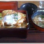 大松 - カツ丼 700円 旨い!