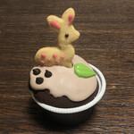 焼き菓子専門店 アルカイック - 奈良のしかさんマフィン オレンジ&チョコレート 400円