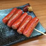 あ久利 - 赤ウインナー250円