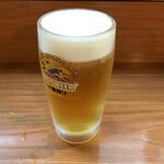 あ久利 - 生ビール380円→ハッピーアワーで280円