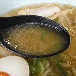 ラーメンの寶龍 - スープ