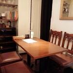 MOZU - テーブル席