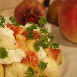 LEVEL - 白桃と水茄子とマスカルポーネ