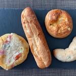 134607625 - この日購入したパンたち