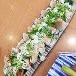 居酒家ねぎまみれ - 焼き餃子8個 980円