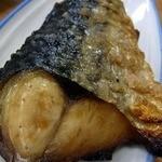 祇ん月 - アテは、鯖の塩焼きからですよ。