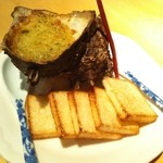 赤坂ジパング - ジパング名物 さざえのエスカルゴ風壷焼
