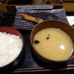しんぱち食堂 - 黒むつ定食