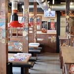 東浦ホルモン - 広々とした昭和の大衆焼肉の雰囲気
