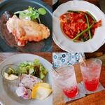 SATO - 料理写真:海定食と山定食