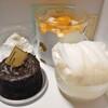 アンジュ - 料理写真:購入した生ケーキ類