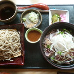 蕎麦の庄 長命庵 - 料理写真:'20/08/10 鰹のたたき丼セット(1,150円+税)