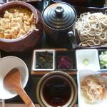 蕎麦の庄 長命庵 - 料理写真:'20/08/10 穴子おひつ御膳(1,480円+税)
