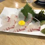 あらし - 鳴門鯛刺身