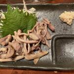 うなぎ家 - 鰻の肝焼き