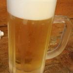 焼鳥・海鮮料理 鳥忠 - 生ビール