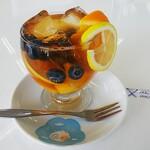 Cafe.K - フレッシュフルーツティー¥500
