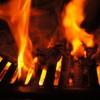 昭和ホルモン - 料理写真:燃えている
