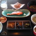 レラモシリ - この日の朝食
