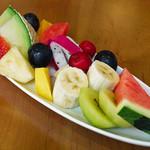 いたがき - フルーツ盛り合わせ(6月)