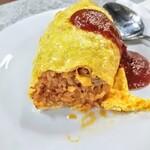 ホクシンケン食堂 - バターが薫る上品なチキンライス!ギトギトケチャップチャーハンではない!