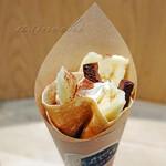 九州パンケーキ キッチン - チョコバナナクレープ