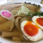 134656657 - チャーシュー麺大盛+煮卵トッピング