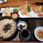 134656927 - 釜ぶっかけ定食(1180円)