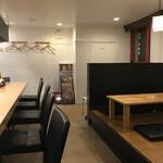 麺屋 丸鶏庵 - 店内