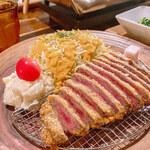 yakinikubarumaruushimi-to - ウシカツランチ