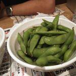 水炊き・焼鳥・鶏餃子 とりいちず - 枝豆280円