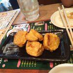 水炊き・焼鳥・鶏餃子 とりいちず - 辛子れんこん380円