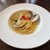 THE FUNATSUYA - 料理写真:フレッシュバジルと桑名産はまぐりのパスタ。     2020.08.10