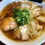 ShiNaChiKu亭 - 醤油ワンタン麺
