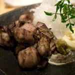 酉こう - 宮崎地鶏のもも焼き