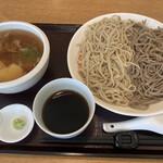 蕎麦 二天 - 料理写真:ざる二色かしわ 1,050円