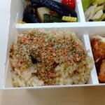 パリヤ - 玄米、梅鮭バジル ♪