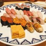 豊鮨 - 料理写真:ゆりにぎり(二人前)
