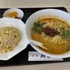 Menkichi - 料理写真:坦々麺定食。950円。