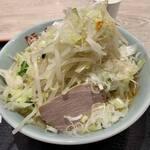 旨い安い腹いっぱい - ラーメン野菜マシマシ